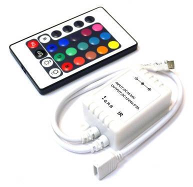 Контроллер RGB 6A (24 кнопки) IR Код.52354, фото 2