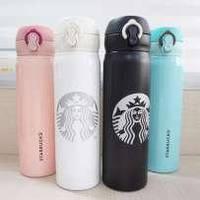 Термокружка , Термочашка Starbucks Старбакс 480 мл. Цвет черный !!!