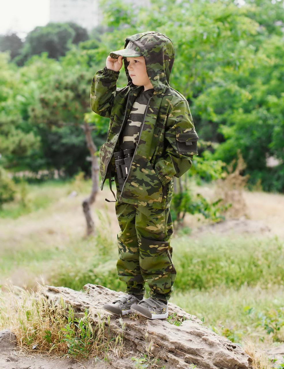 Детский камуфляж костюм для мальчиков Лесоход цвет Мультикам Тропик