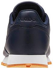 Кроссовки мужские Reebok Classic Leather, BD1641 (Оригинал), фото 2