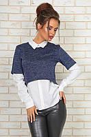 Блузка с кофтой Цвета  99 YО, фото 1