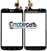 Оригинальный Сенсор (Тачскрин) для LG P715 Optimus L7 II (Черный)