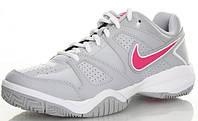 Кроссовки детские Nike junior City Court 7 GS Grey/Light Pink (488327-002), фото 1