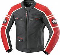 Мотокуртка IXS Curtis кожа черный красный 52