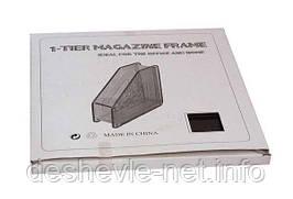 Лоток для бумаги (1 секция, вертикальный, металл.сетка)