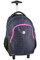 Рюкзак школьный на колесах PASO UNIQUE 16-997 (997-K) Польша