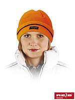 Шапка зимняя оранжевая Reis Польша (защита для головы) CZBAW-THINSUL P