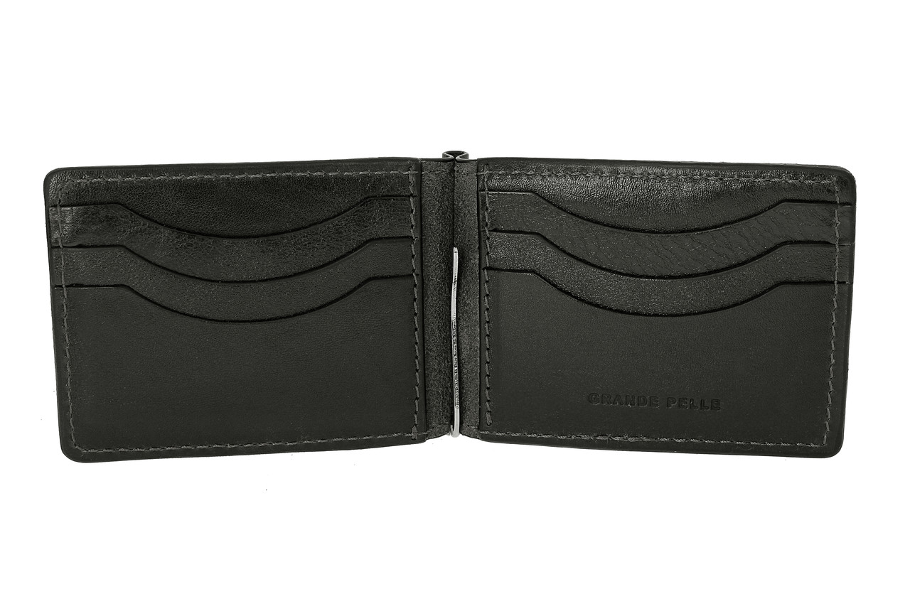 Зажим-портмоне, чёрный