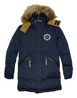 Куртка зимняя подростковая для мальчика,р.146-170