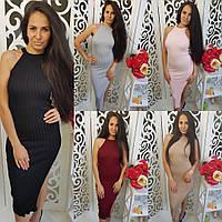 Платье ЦВЕТ: Черный,Бордовый, Нежно-розовый. Ткань: Вязка ( трикотаж) мдав № 1602