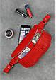 Сумка напоясная женская Spirit рубин, фото 8