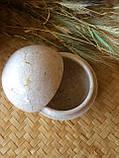 """Шкатулка из камня """"Мрамор"""", шкатулка-шар., фото 4"""
