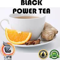 Ароматизатор Inawera BLACK POWER TEA (Имбирный чай с апельсином) 30 мл