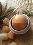 """Шкатулка из камня """"Мрамор"""", шкатулка-шар., фото 3"""