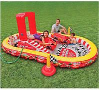 Водный надувной игровой центр Intex Тачки  348х198х121 см (57134)