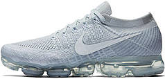 "Мужские кроссовки Nike Air Vapormax Flyknit 2 ""White Vast Grey"" 942843-105, Найк Аир Вапор Макс"
