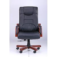 Кресло Ричмонд, Кожа Черная (642-B+PVC) (AMF-ТМ)