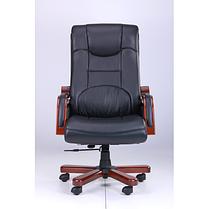 Кресло Ричмонд, Кожа Черная (642-B+PVC) (AMF-ТМ), фото 2