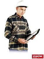 Рубашка из фланели утепленная рабочая REIS KFLUX N