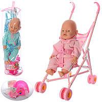 Baby Born 42 см Кукла BB RT 07-02 CDZ  с коляской