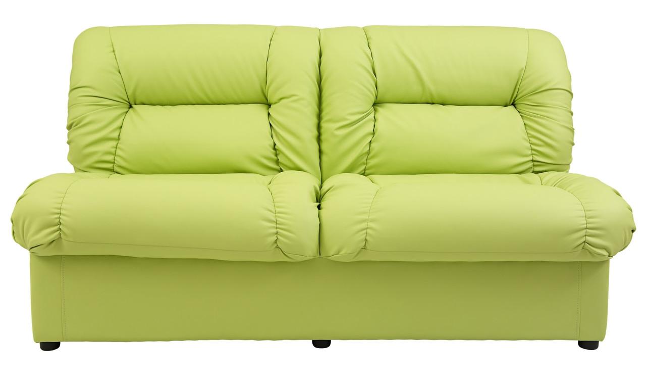 Офисный диван Визит 2 местный модуль зеленый