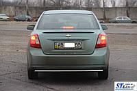 Защитная дуга заднего бампера  Chevrolet Lacetti