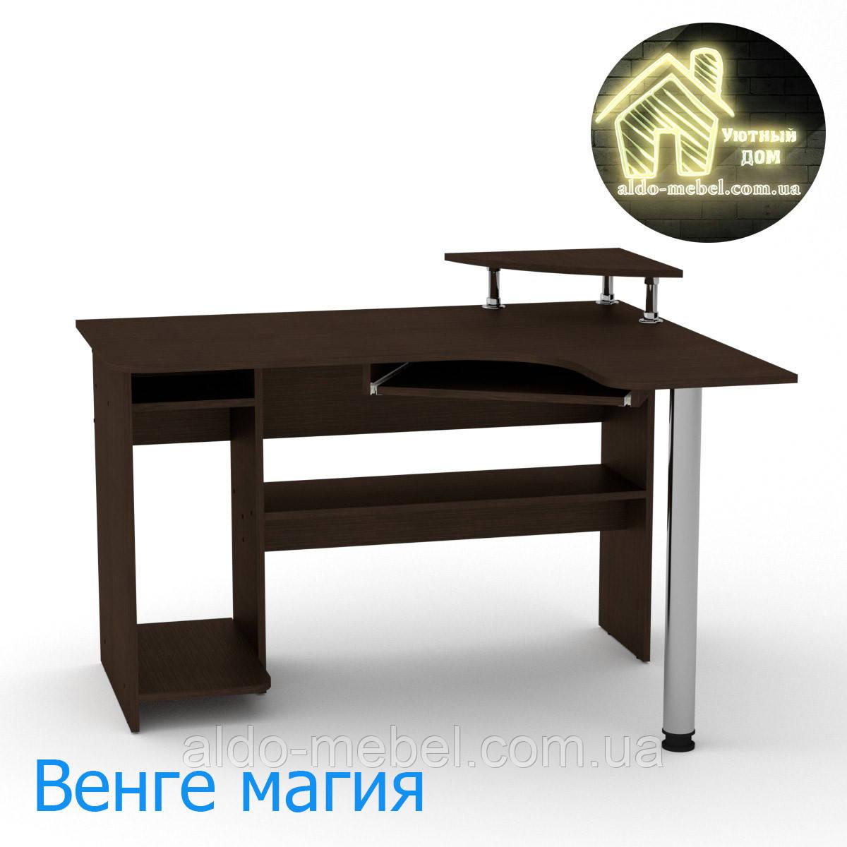 Стол компьютерный СУ - 7 Габариты Ш - 1200 мм; В - 736 + 116 мм; Г - 1000 мм (Компанит)
