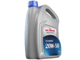 Масло TEMOL Classic 20w50 1л