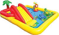 Водный надувной игровой центр Intex 254х196х79 см  (57454)