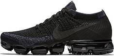 Мужские кроссовки Nike Air VaporMax Flyknit Triple Black