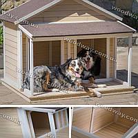 Садовая будка для собак