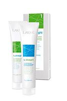 Комплекс для выпрямления пористых и чувствительных волос LAKME k-straight 1