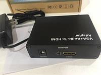Конвертор VGA+Audio to HDMI 1080P HD в Одессе