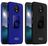 Пластиковый чехол Imak с кольцом-подставкой для Motorola Moto G5S (2 цвета)