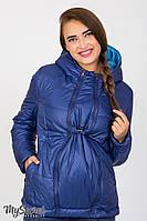 Демисезонная двухсторонняя куртка для беременных Floyd OW-37.011, аквамарин с синим, фото 1