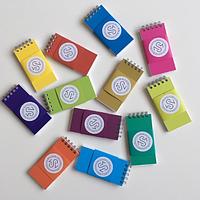 Блокнот для изучения слов, разной цветовой гаммы