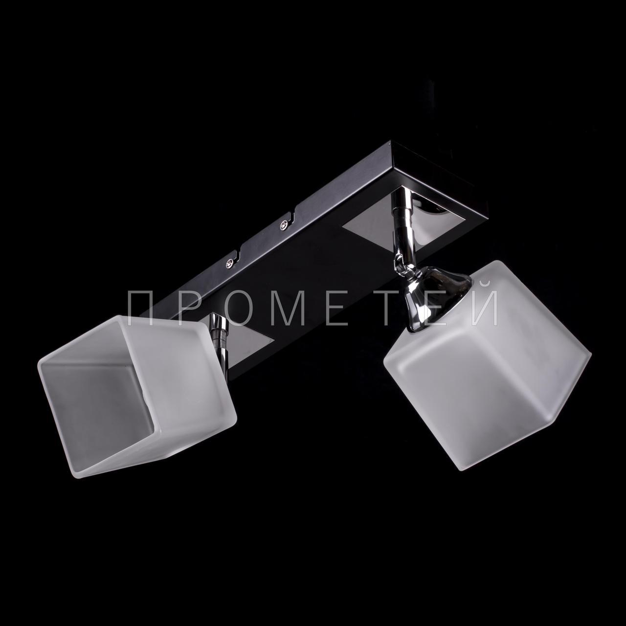 Люстра Припотолочная спот (направляється) на дві лампочки P3-11665/2BC/BK+CR+WT