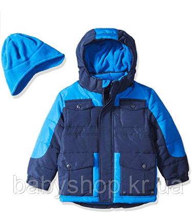 Зимняя куртка  Rothschild (США) с шапкой для мальчика 2 года, фото 1