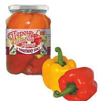 Перец сладкий резаный в томатном соке