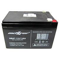 Аккумулятор свинцово-кислотный Maxxter  MBAT-12V12Ah (12V,12Ah)