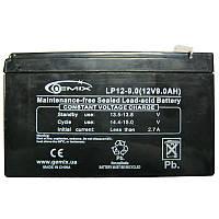 Аккумулятор свинцово-кислотный Gemix LP 12-9,0 (12V;9,0A)