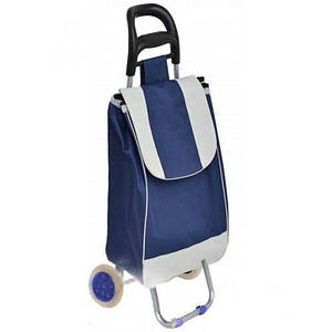 Тачка сумка с колесиками кравчучка 95см E00317 Blue. D