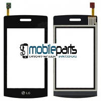 Оригинальный Сенсор (Тачскрин) для LG GT500 (Черный)