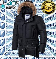 Мужская классическая куртка Braggart Dress Code - 4506#4505 черный