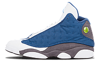 Мужские кроссовки Air Jordan 13 White/Blue