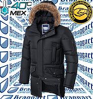 Зимняя классическая куртка Braggart Dress Code - 4506#4505 графит