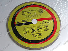 Диск алмазный DWT DS-230 F 230x25,4 мм