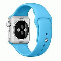 Ремешок Apple Watch 42mm Blue Sport Band копия