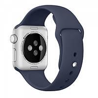 Ремешок Apple Watch 38mm Midnight Blue Sport Band копия