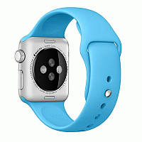 Ремешок Apple Watch 38mm Blue Sport Band копия